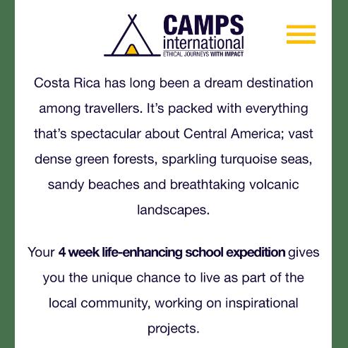 Camps International Costa Rica 2021 - Isaac Readhead