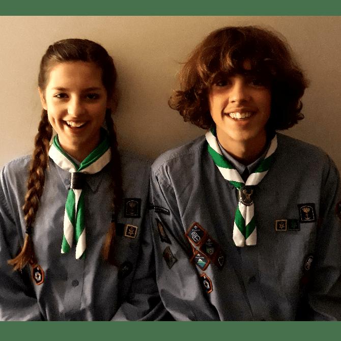 World Scout Jamboree USA 2019 Jake and Kezia