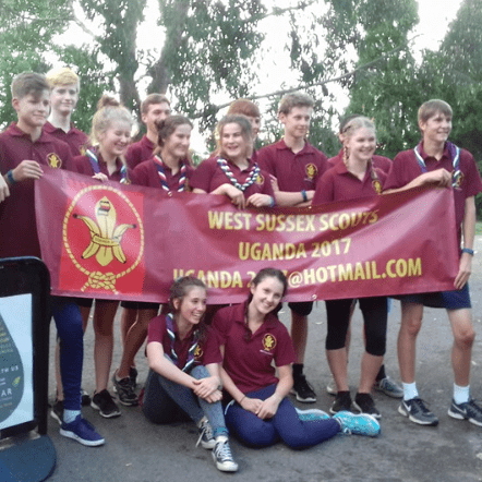 West Sussex Scouts Uganda 2017 - Niamh Lingard