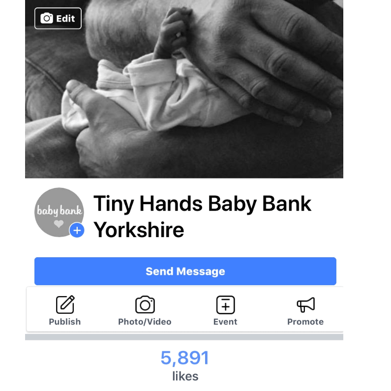Tinyhands Baby Bank Yorkshire