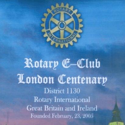 Rotary EClub of London Centenary