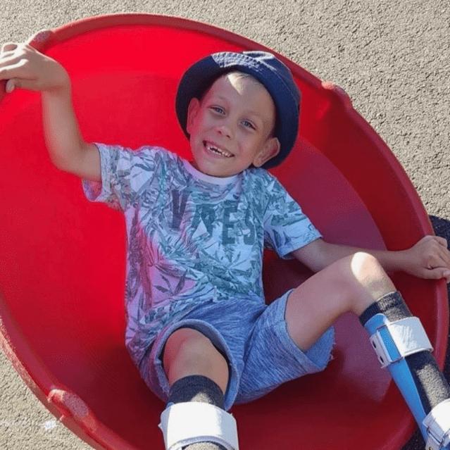 Darren Rice raising for Just4Children Lucas - Life Changing Surgery
