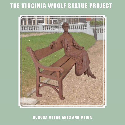 The Virginia Woolf Statue  cause logo