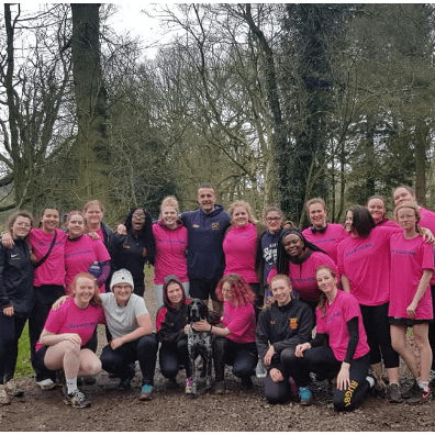 Keele Women's Rugby Support Donna Louise
