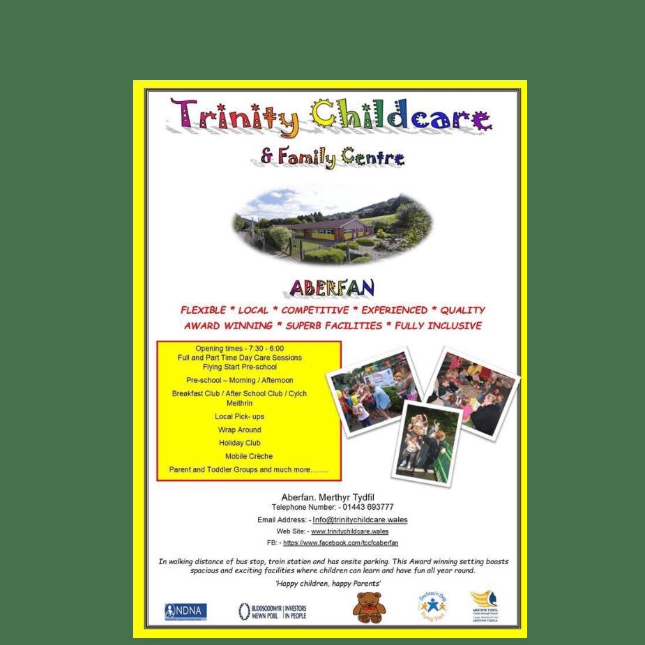 Trinity Child And Family Centre - Merthyr Tydfil cause logo