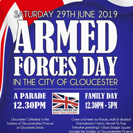Armed Forces Day Gloucester