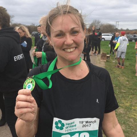 London Marathon 2018 for Cardiomyopathy UK - Gillian Sussex