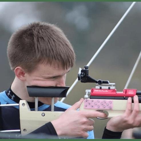 GB Target Sprint Squad International Competitions - James Baxter