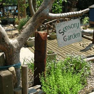 Birchlands Care Home Sensory Garden