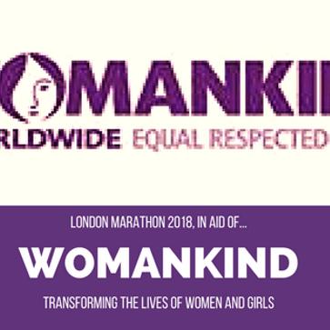 London Marathon in aid of  Womankind - Katie Bullman