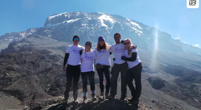 Climbing Kilimanjaro for MRF - Katie Towler