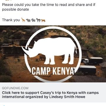 Camps International Kenya 2021 - Casey Howe