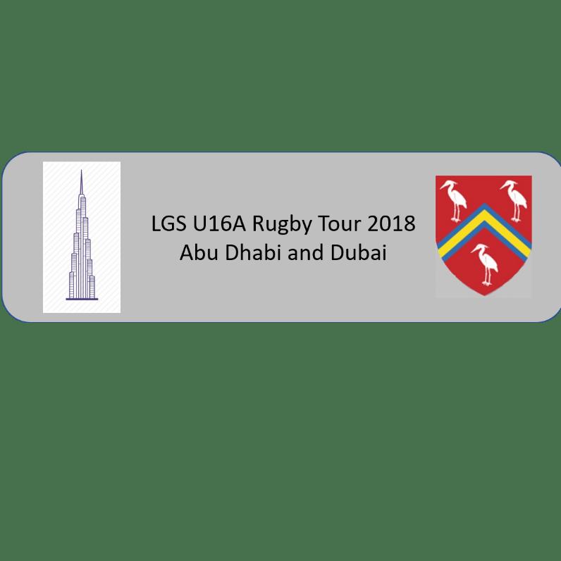 LGS Rugby Tour Dubai & Abu Dhabi 2018