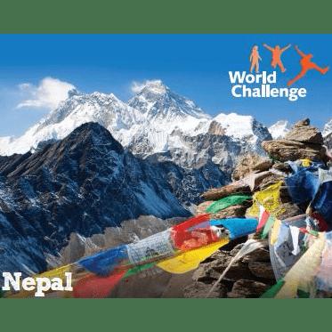 World Challenge Nepal 2018 - Evie Taylor