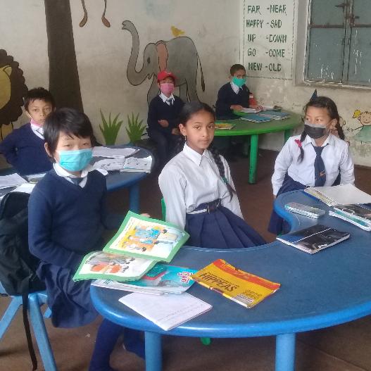 Shree Bhagawati Basic School Nepal - Joanna Mushat