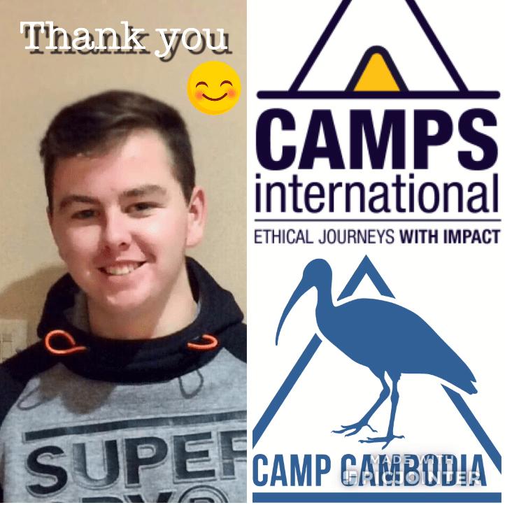 Camps International Cambodia 2020 - Euan Michael