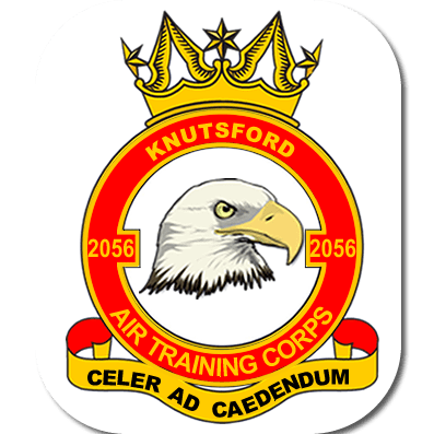 2056 (Knutsford) Squadron Air Cadets cause logo