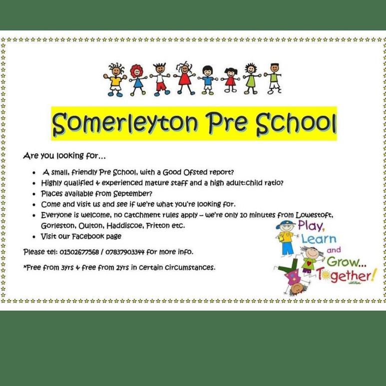Somerleyton Pre School