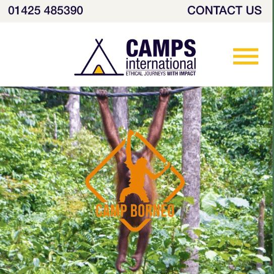 Camps International Borneo 2021 - Luca Murton