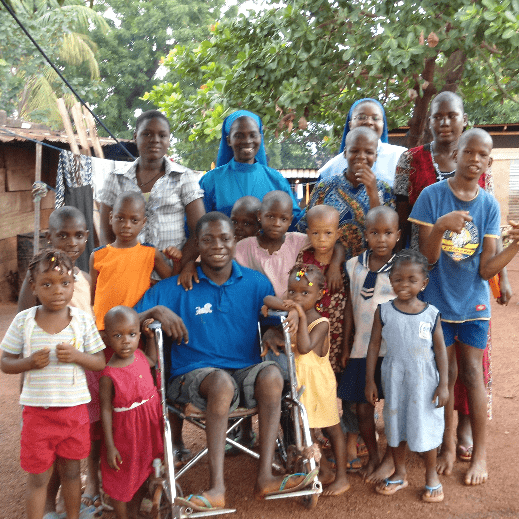 Daughters of Divine Love Congregation - Helping Disabled Children in Africa