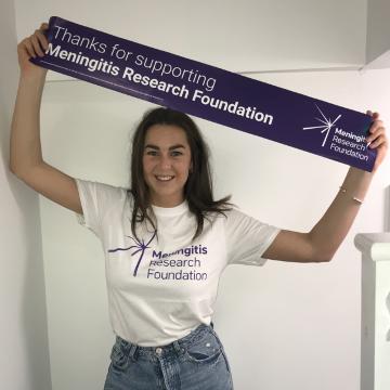 Meningitis Research Foundation Everest 2021 - Scarlett Brown