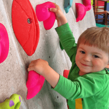 Rock Tots - Portable Climbing Boulder for Tots and Kids