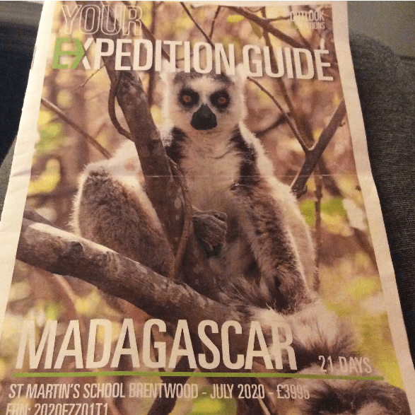 Outlook Expedition Madagascar 2020 - Jack Bowring