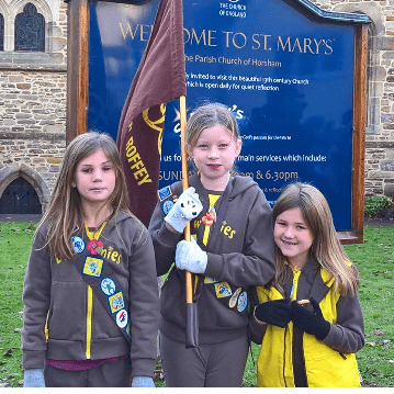 1st Roffey Brownies