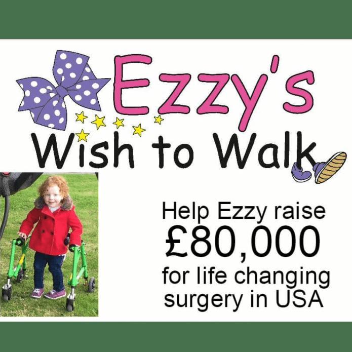 Ezzys wish to walk
