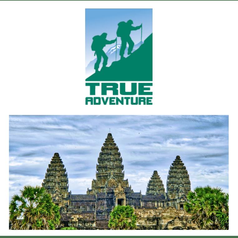 True Adventure Cambodia 2020 - Noah Cadby