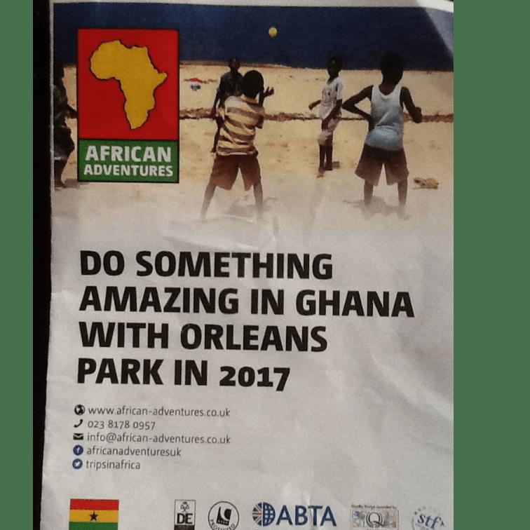 African Adventures Ghana 2017 - Angela Newton