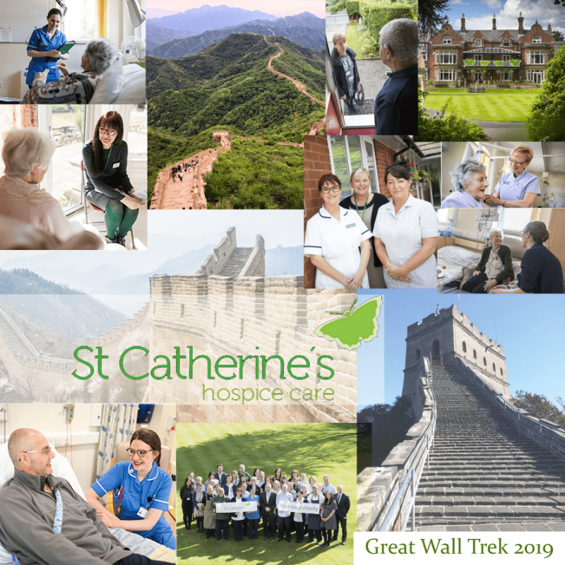 Great Wall of China Trek 2019 for St Catherine's Hospice - Charlotte Sumner