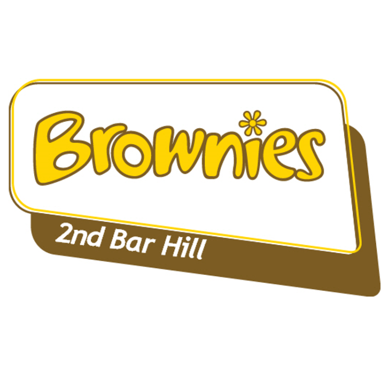 2nd Bar Hill Brownies cause logo