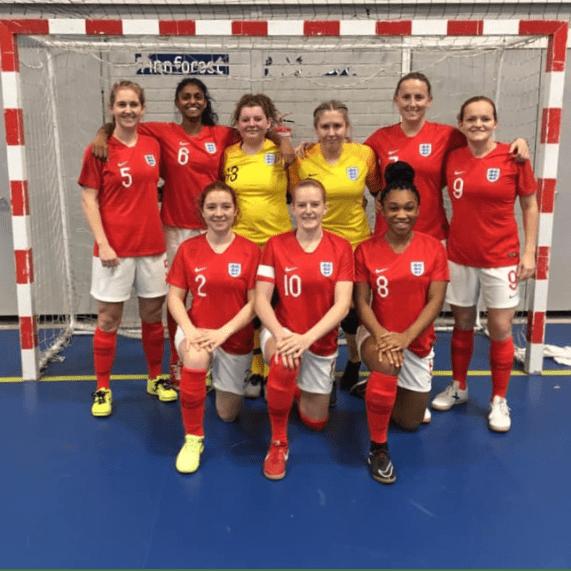England Deaf Womens Futsal