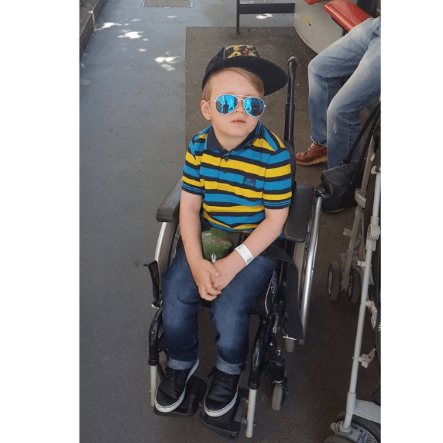Kaydens wish to walk