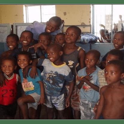 Community project Namibia - Joy Parker