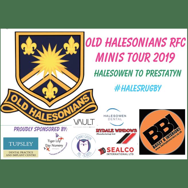 Old Halesonians RFC Mini's Tour