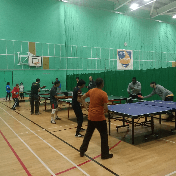 Bolton Table Tennis Club cause logo