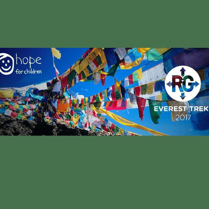 Hope For Children RAG Everest Base Camp 2017 - Hannah Houghton