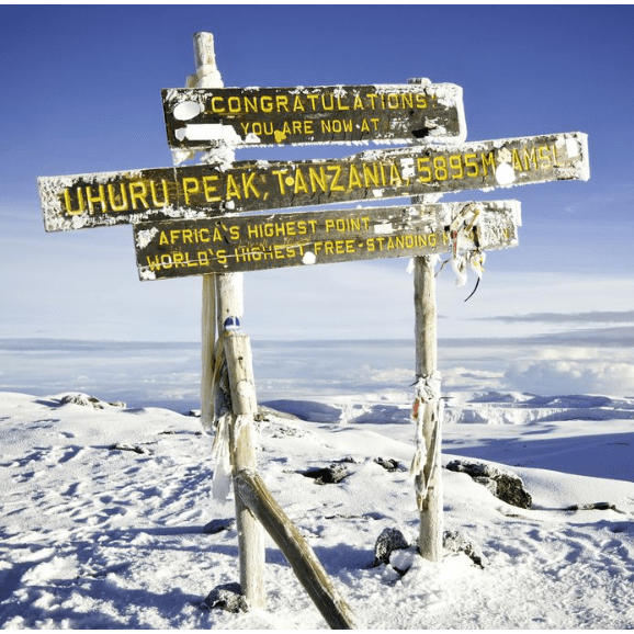 Adventure Lifesigns  Kilimanjaro 2021 - Cassius Cornelius