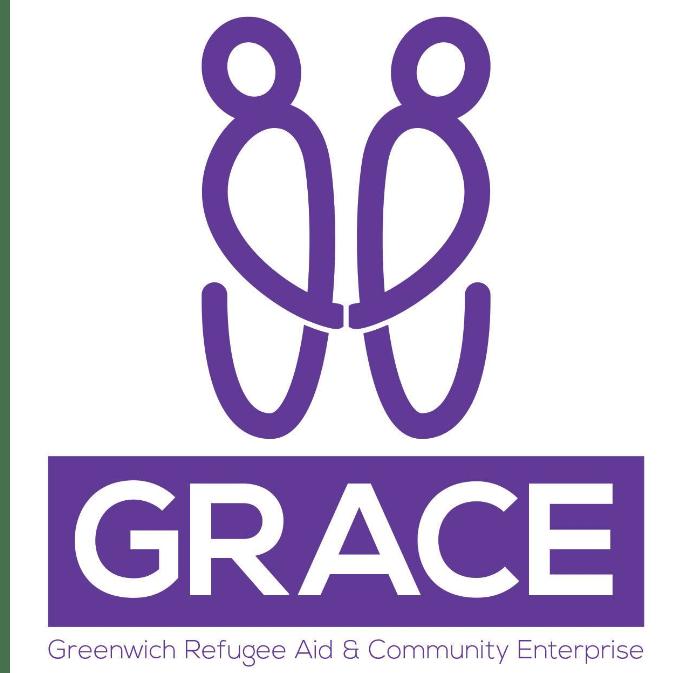 GRACE (Greenwich Refugee Aid & Community Enterprise) cause logo