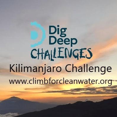 Dig Deep Kilimanjaro 2021 - Becky Self
