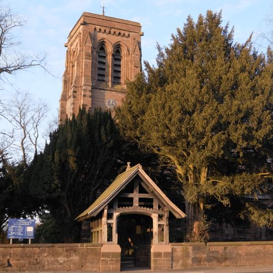 St Matthews Church Stretton