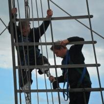 Jubilee Sailing Trust Injured Veterans 2017 - Emma Morley