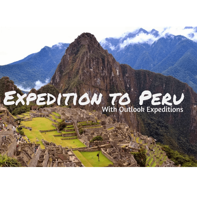 Outlook Expeditions Peru 2021 - Edward Crowther