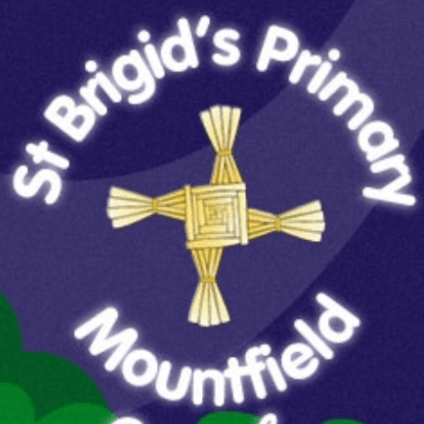 St Brigids Primary School - Mountfield cause logo