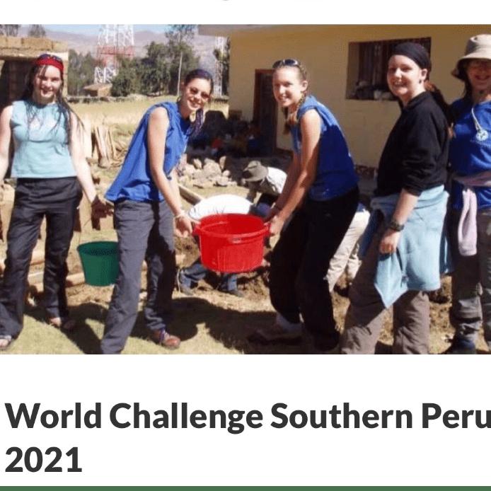 World challenge Peru 2021 Savannah Dawson