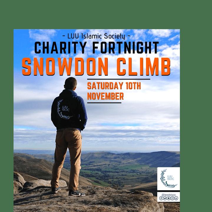 Mount Snowdon Climb to raise money for Penny Appeal - Zainab Gul