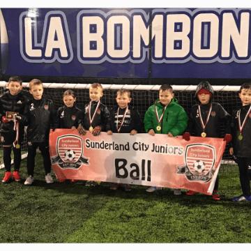 Sunderland city juniors ball under 7s Ball