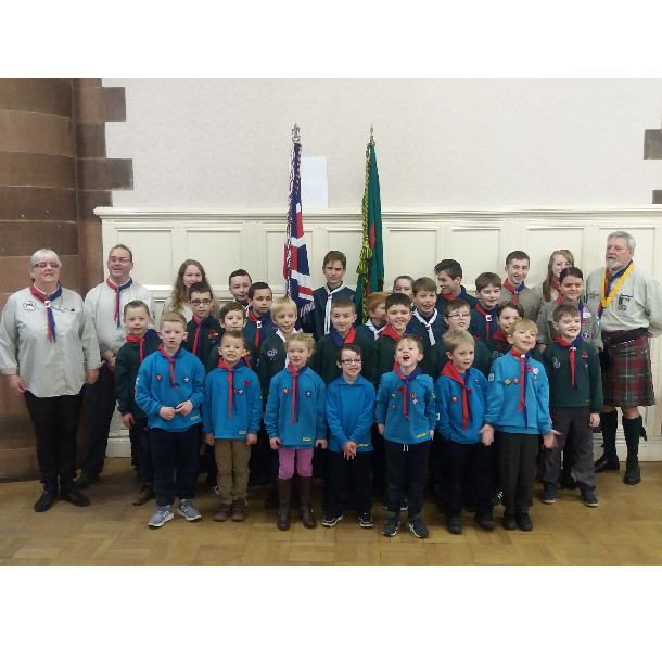 58th Renfrew & Inverclyde. 18th Paisley & District Scout Group
